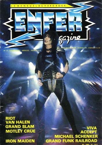 Enfer Magazine N°15 - Juil/Aout 1984