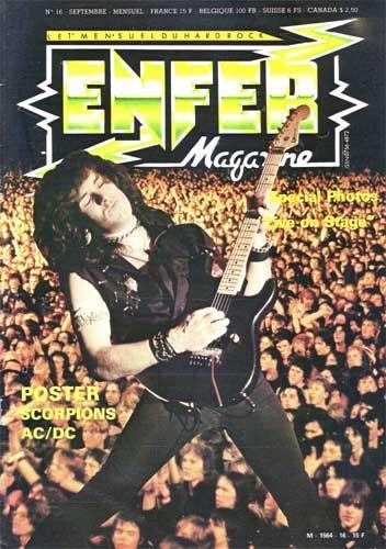 Enfer Magazine N°16 - Sep 1984