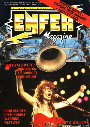 Enfer Magazine N°17 - Oct 1984
