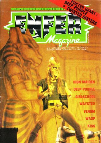 Enfer Magazine N°18 - Nov. 1984
