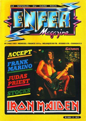 Enfer Magazine N°2 - Mai 1983