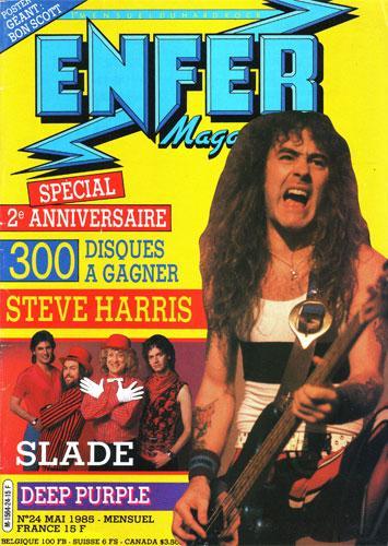 Enfer Magazine N°24 - Mai 1985