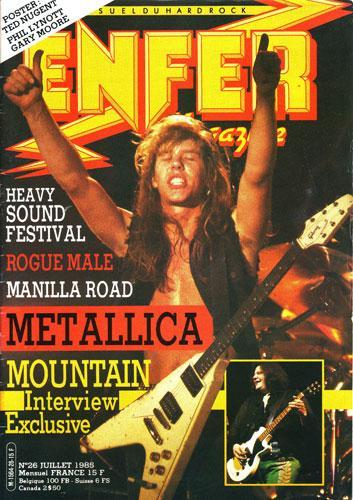 Enfer Magazine N°26 - Juillet 1985