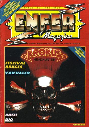 Enfer Magazine N°3 - Juin 1983