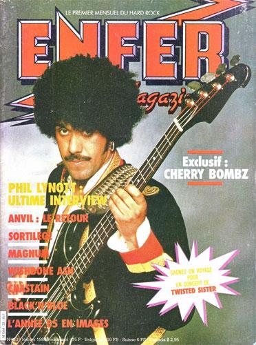 Enfer Magazine N°33 - Fev 1986