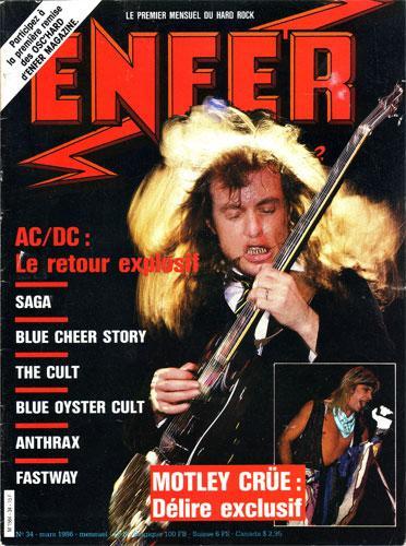 Enfer Magazine N°34 - Mar 1986