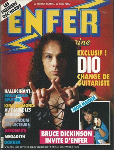 Enfer Magazine N°36 - Mai 1986