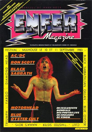 Enfer Magazine N°4 - Juil 1983