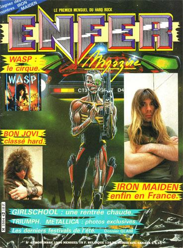 Enfer Magazine N°42 - Nov 1986