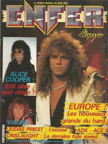 Enfer Magazine N°42 - Décembre 1986