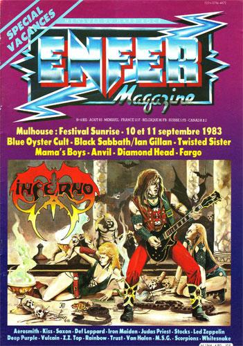 Enfer Magazine N°4bis - Aout 1983