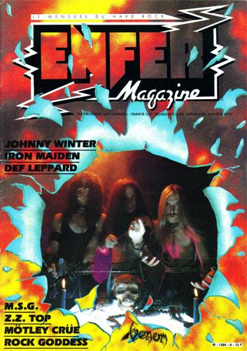 Enfer Magazine N°8 - Dec. 1983