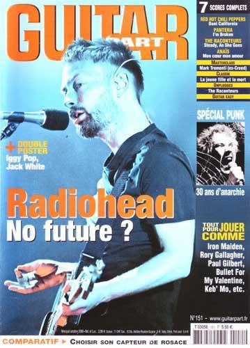 Guitar Part N°151 - Octobre 2006