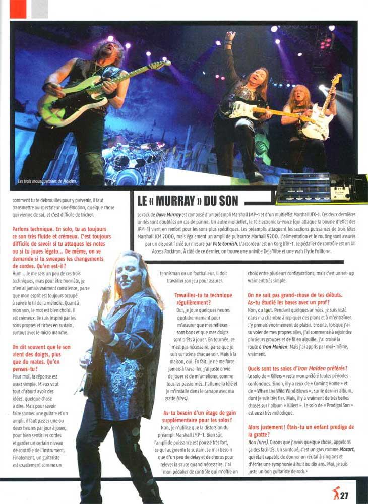 GuitareXtreme N°46 - Septembre / Octobre 2011