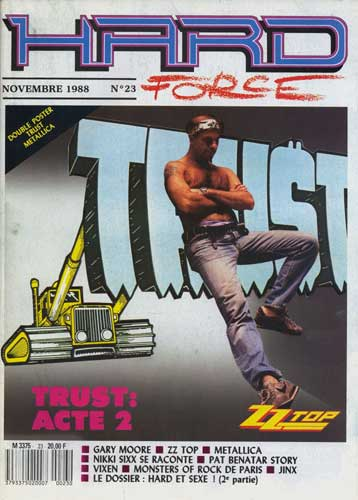 Hard Force N°23 – Novembre 1988