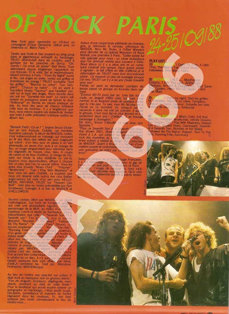 Hard Force N°24 – Decembre 1988