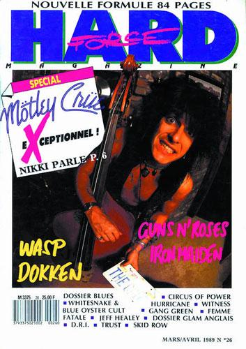 Hard Force N°26 – Mars / Avril 1989