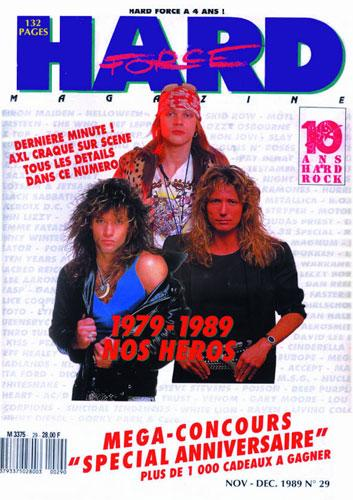 Hard Force N°29 - Nov / Dec 1989