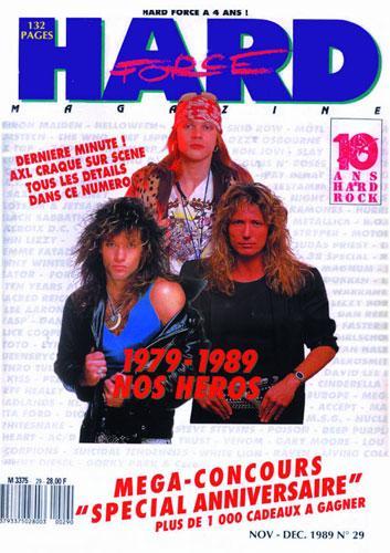 Hard Force N°29 - Nov / Dec 1989