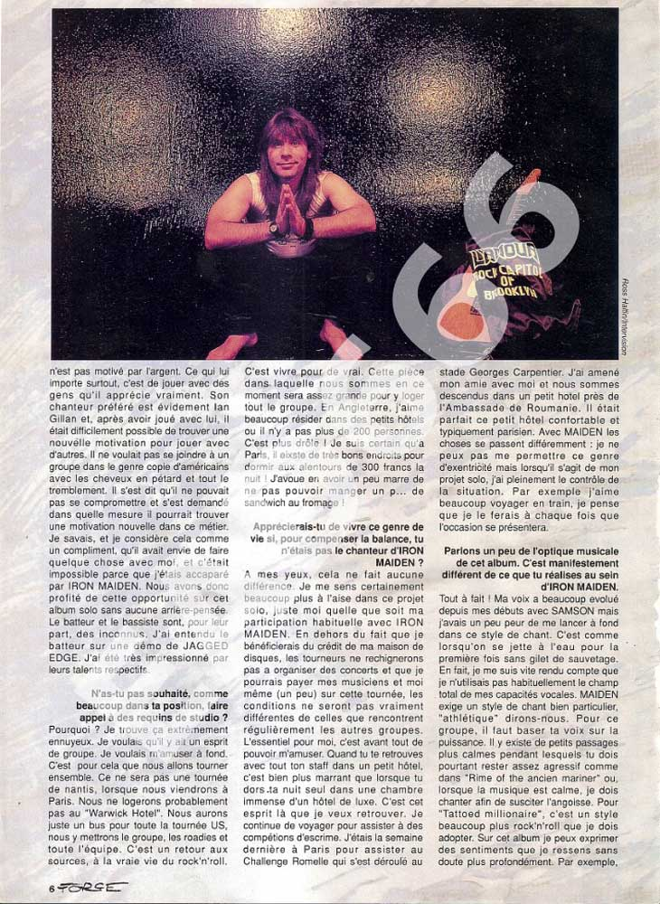 Hard Force N°31 - Mars / Avril 1990