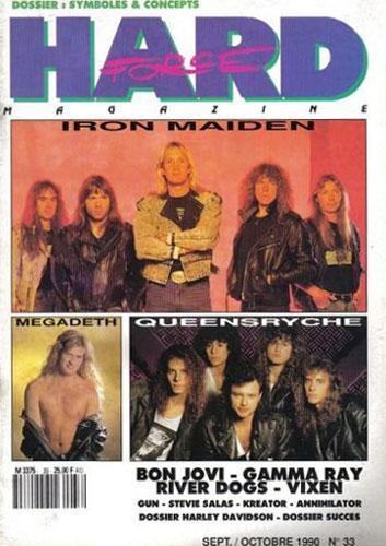 Hard Force N°33 - Sept / Oct 1990