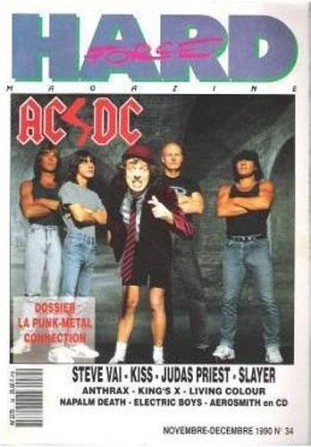Hard Force N°34 - Nov / Dec 1990