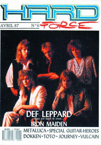 Hard Force N°6 - Avril 1987