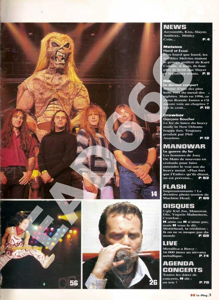 H Le Mag N°2 - Octobre 1996