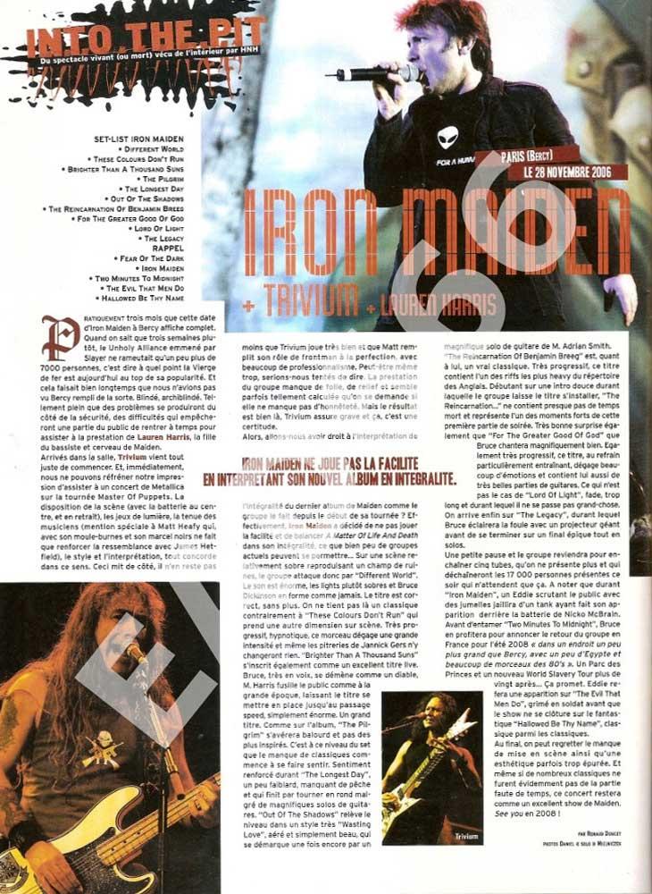 Hard N' Heavy N°129 - Janvier 2007