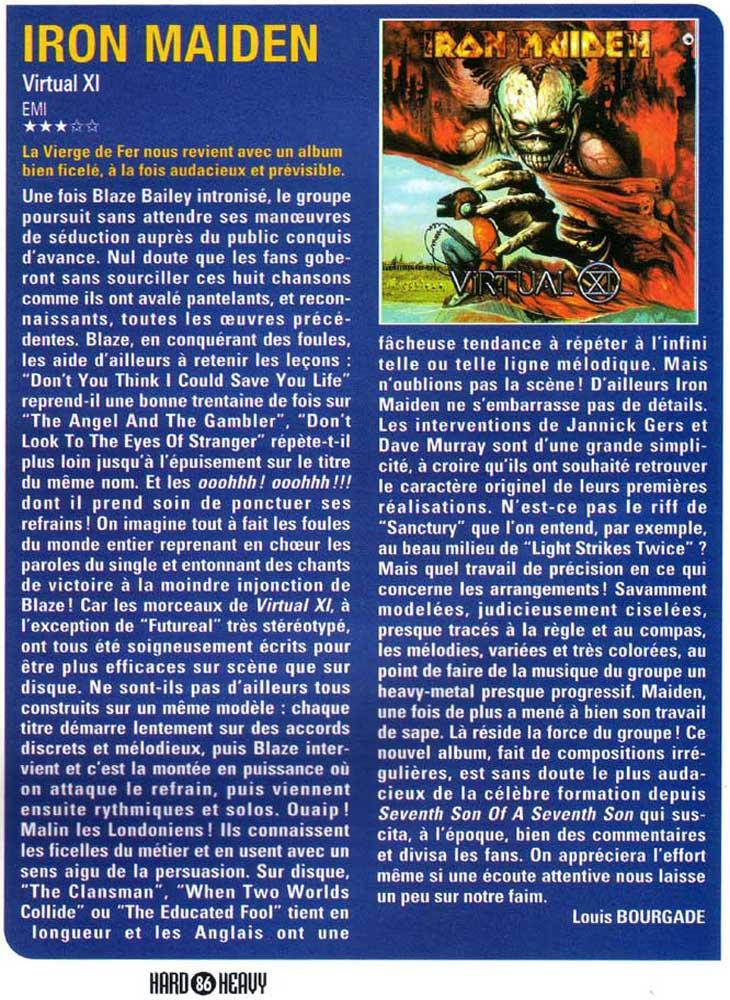 Hard N' Heavy N°37 - Avril 1998