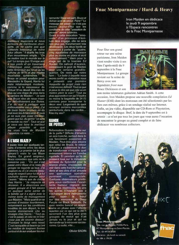 Hard N Heavy N°51 - Juillet 1999