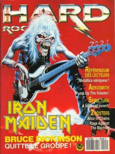 Hard Rock Magazine N°101 - Avril 1993