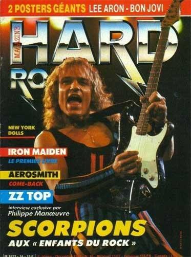 Hard Rock Magazine N°16 – Dec 1985