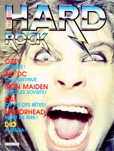 Hard Rock Magazine N°2 - Oct 1984
