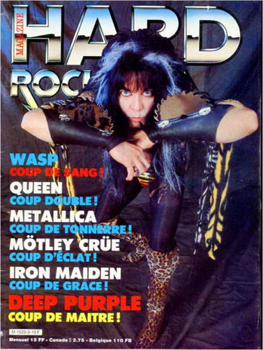 Hard Rock Magazine N°3 - Nov 1984