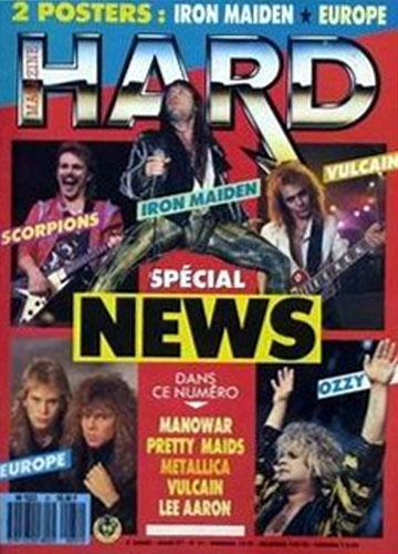 Hard Rock Magazine N°31 - Mars 1987