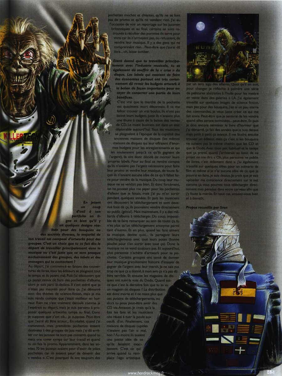 Hard Rock Magazine N°35 - Juillet / Août 2011