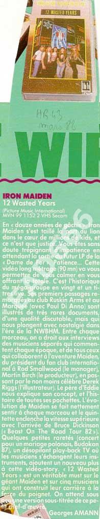 Hard Rock Magazine N°43 - Mars 1988