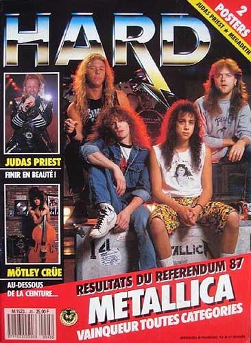 Hard Rock Magazine N°45 - Mai 1988