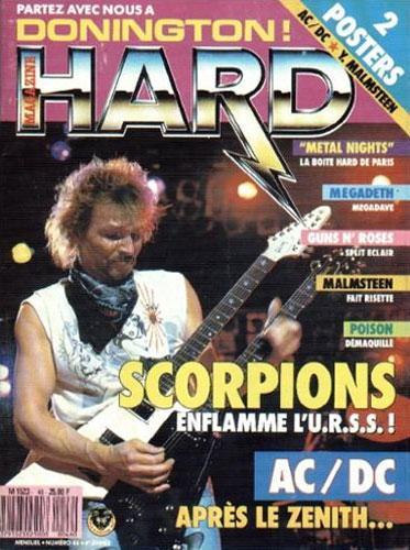 Hard Rock Magazine N°46 - Juin 1988