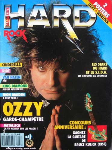 Hard Rock Magazine N°47 – Juil 1988