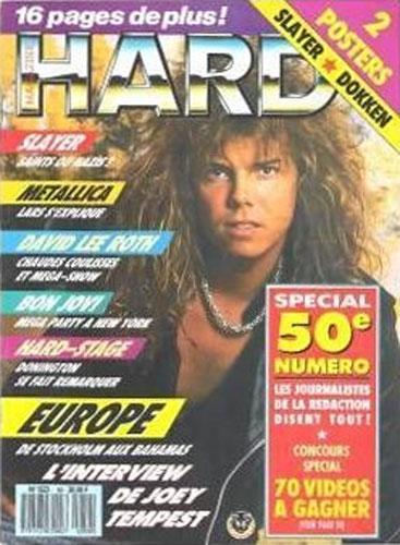 Hard Rock Magazine N°50 - Oct 1988