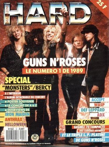 Hard Rock Magazine N°51 - Novembre 1988