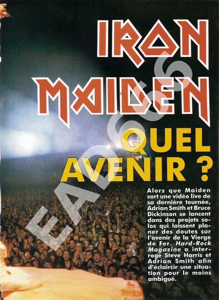 Hard Rock Magazine N°64 – Décembre 1989