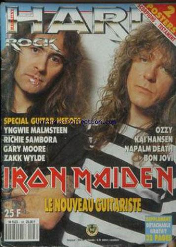 Hard Rock Magazine N°66 - Avril 1990