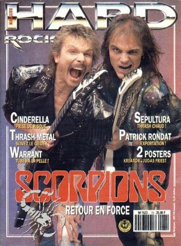 Hard Rock Magazine N°73 - Décembre 1990
