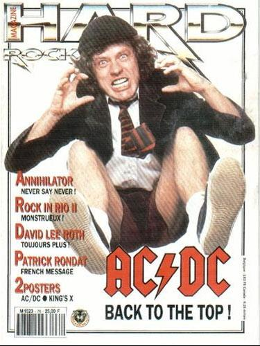 Hard Rock Magazine N°76 - Mars 1991