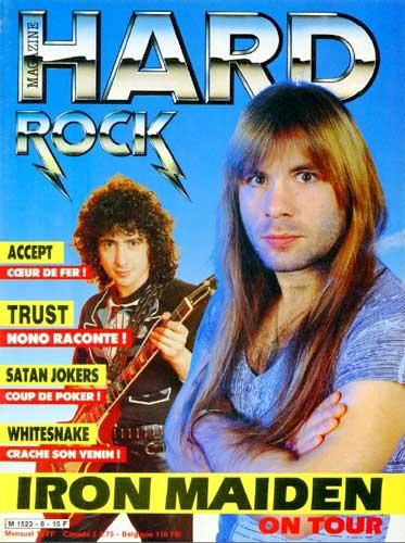 Hard Rock Magazine N°8 - Avr 1985
