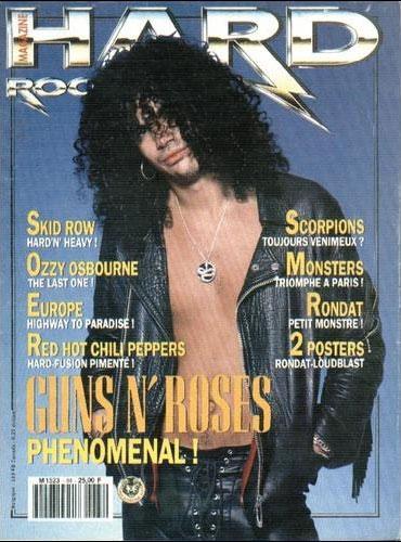 Hard Rock Magazine N°84 - Novembre 1991