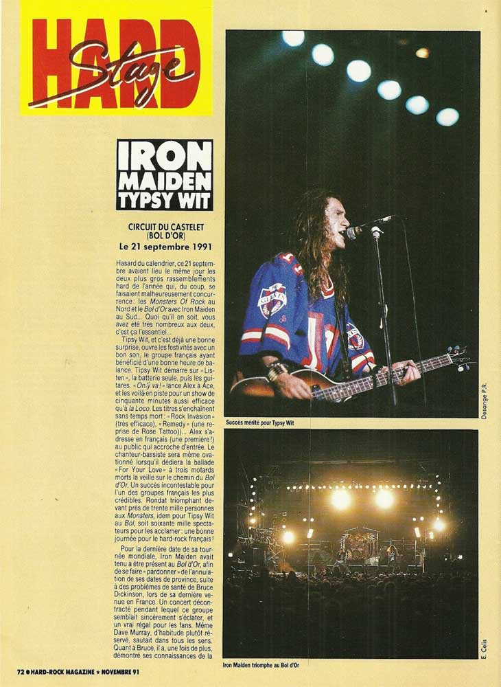 Hard Rock Magazine N°84 - Novembre 1991
